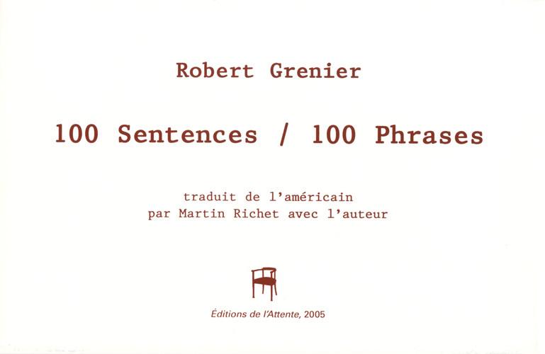 100 SENTENCES / 100 PHRASES