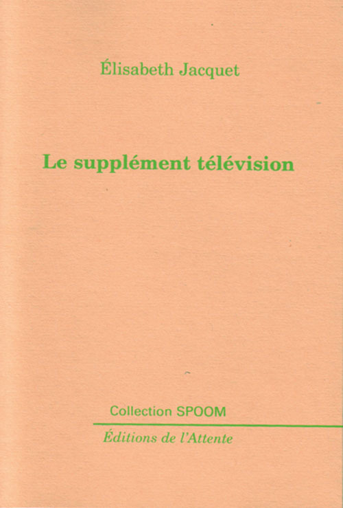 LE SUPPLEMENT TELEVISION