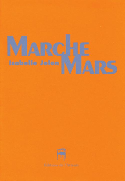 MARCHE MARS - LIVRE POSTER