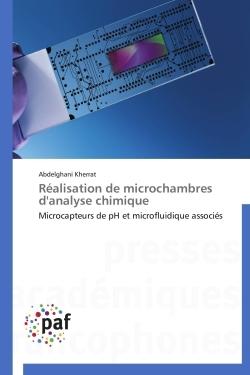 REALISATION DE MICROCHAMBRES D'ANALYSE CHIMIQUE