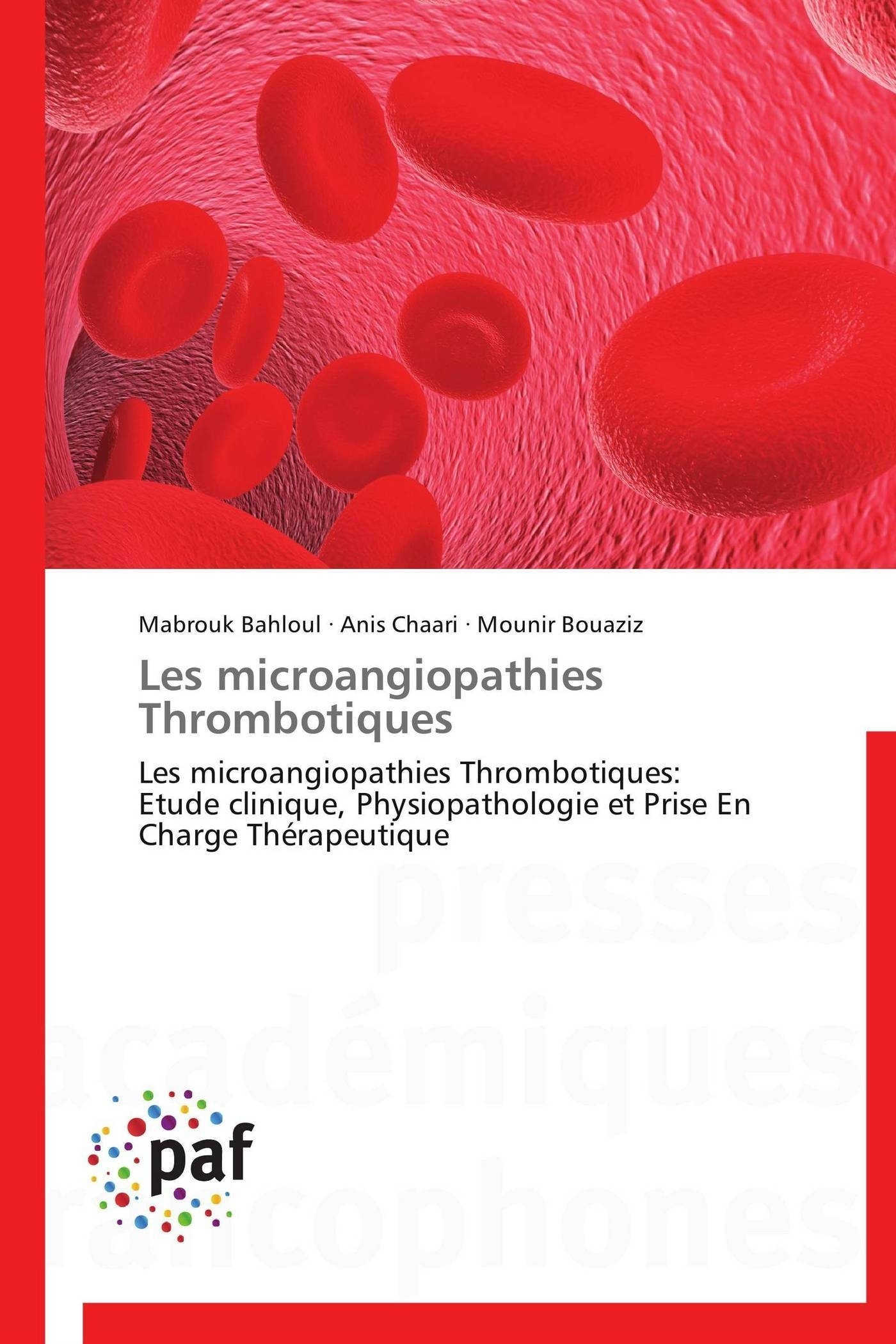 LES MICROANGIOPATHIES  THROMBOTIQUES