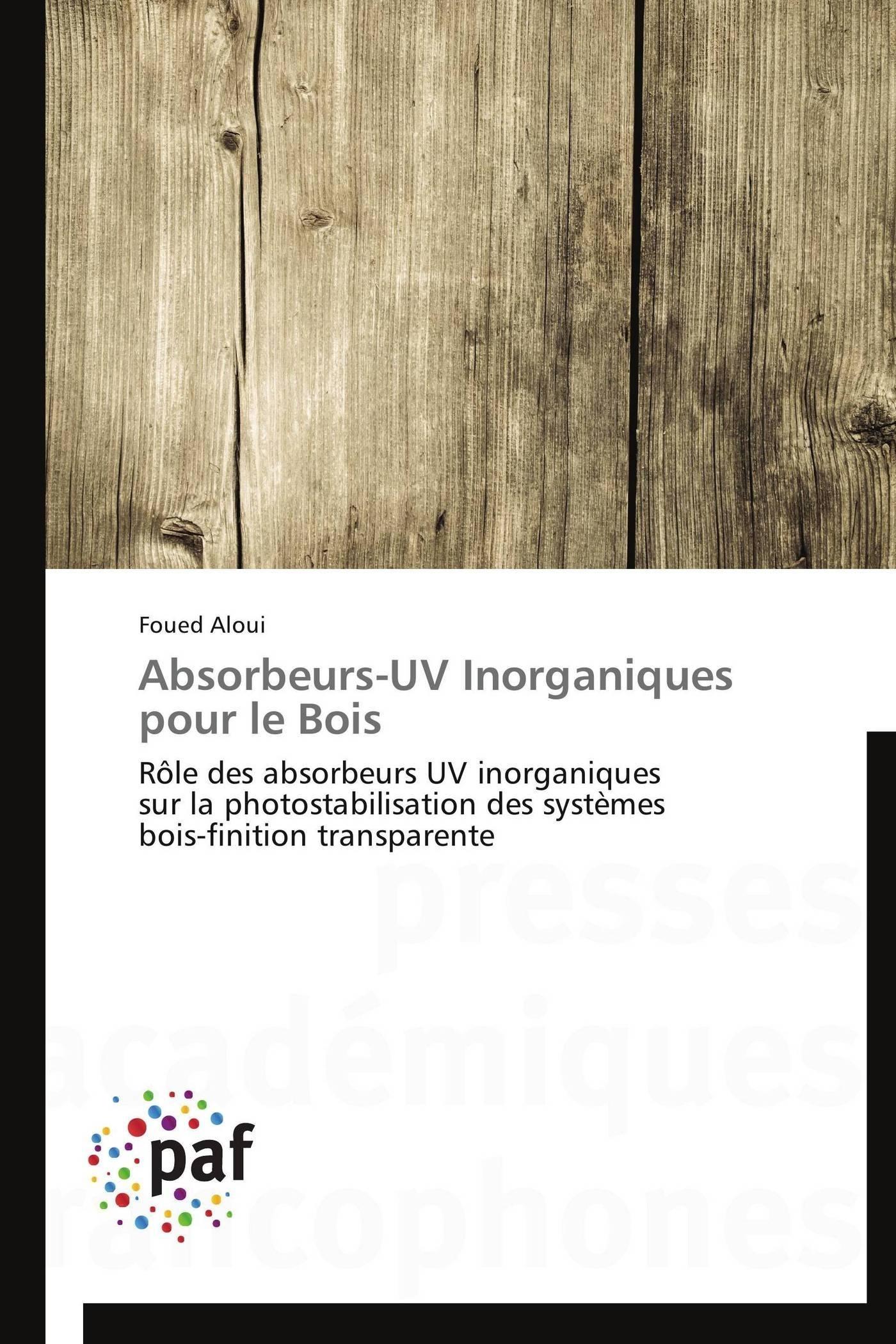 ABSORBEURS-UV INORGANIQUES POUR LE BOIS
