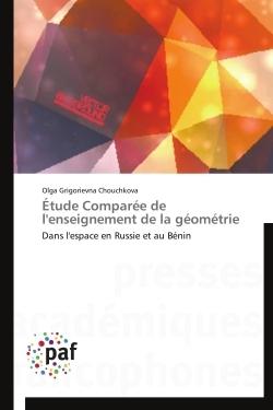 ETUDE COMPAREE DE L'ENSEIGNEMENT DE LA GEOMETRIE