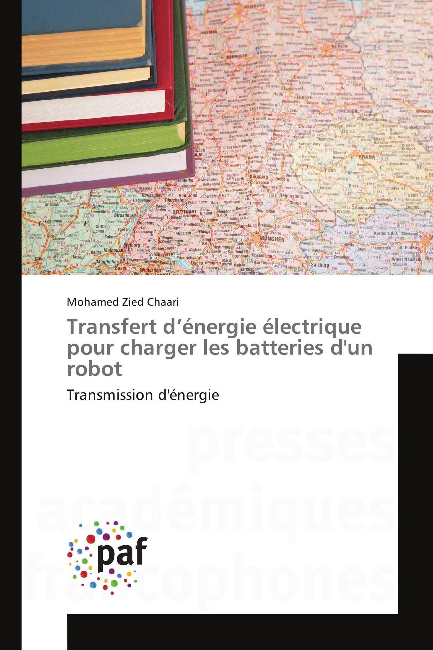 TRANSFERT D ENERGIE ELECTRIQUE POUR CHARGER LES BATTERIES D'UN ROBOT