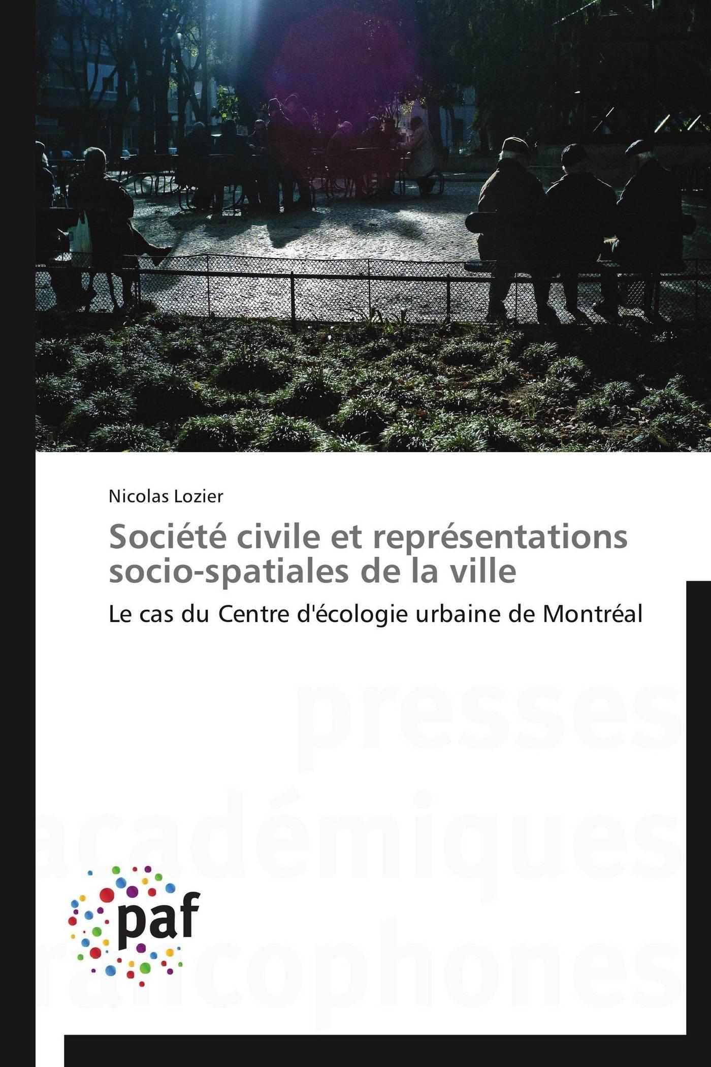 SOCIETE CIVILE ET REPRESENTATIONS SOCIO-SPATIALES DE LA VILLE