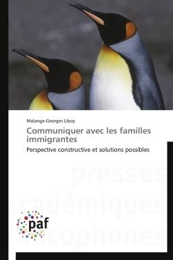 COMMUNIQUER AVEC LES FAMILLES IMMIGRANTES