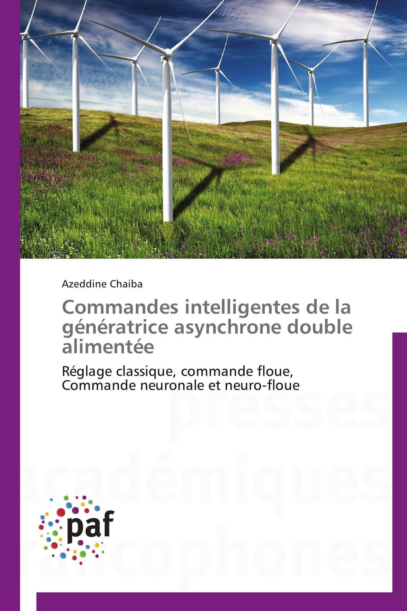 COMMANDES INTELLIGENTES DE LA GENERATRICE ASYNCHRONE DOUBLE ALIMENTEE