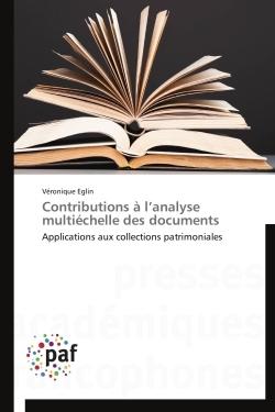 CONTRIBUTIONS A L ANALYSE MULTIECHELLE DES DOCUMENTS