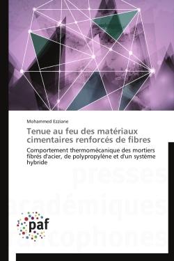 TENUE AU FEU DES MATERIAUX CIMENTAIRES RENFORCES DE FIBRES