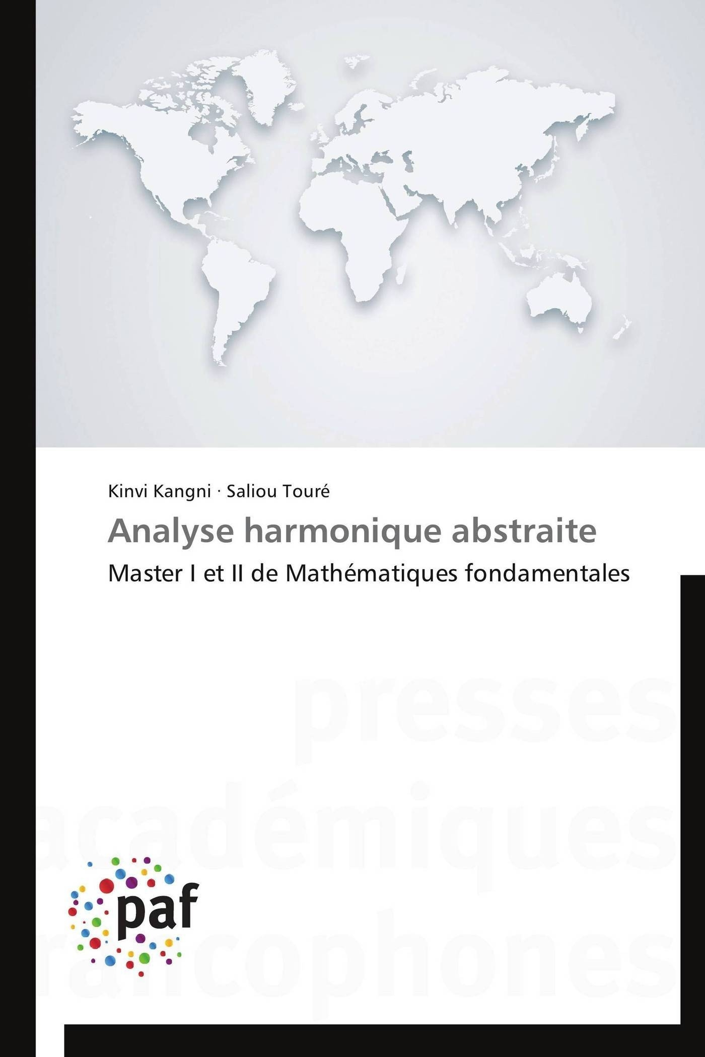 ANALYSE HARMONIQUE ABSTRAITE