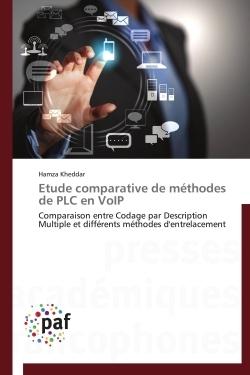 ETUDE COMPARATIVE DE METHODES DE PLC EN VOIP