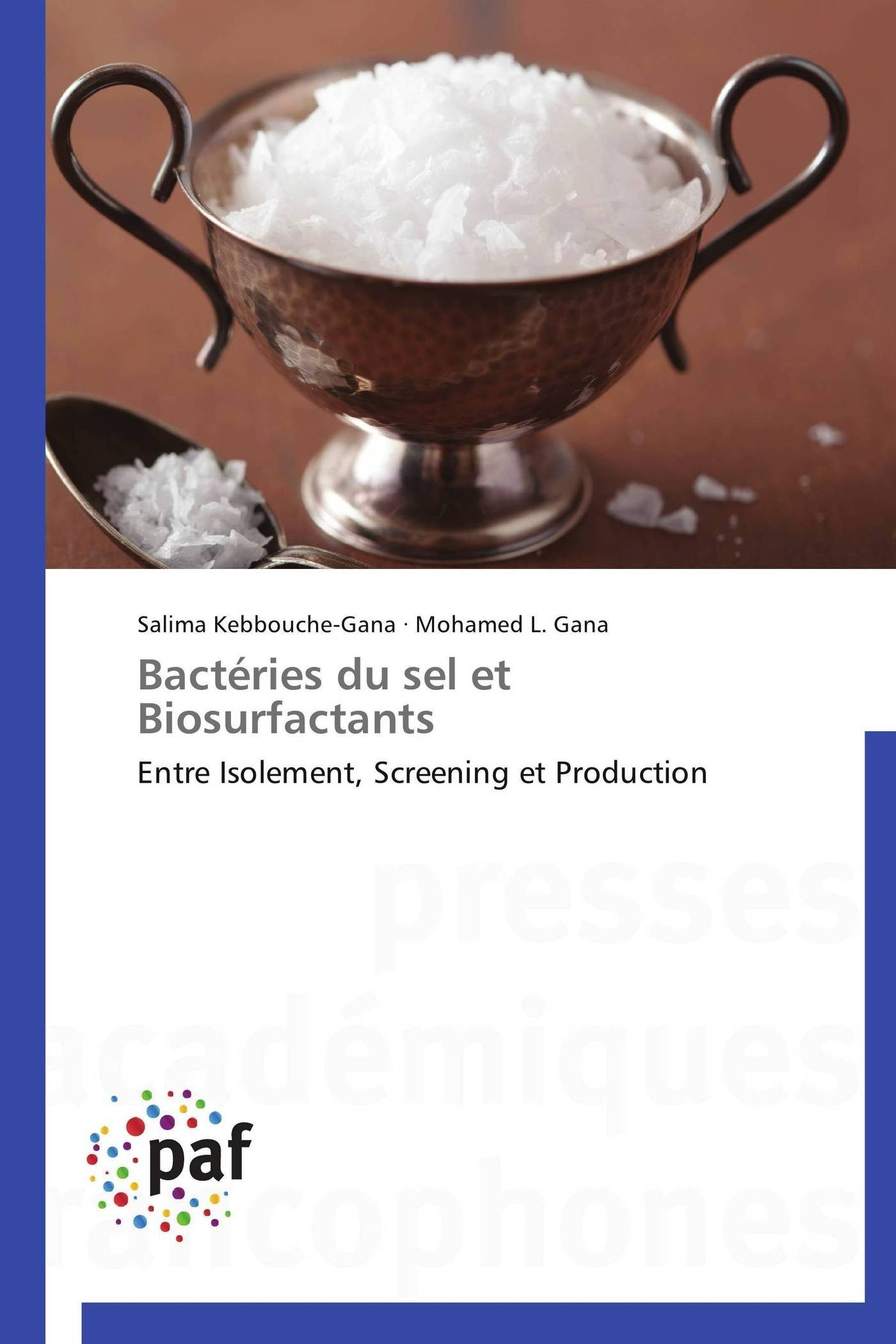 BACTERIES DU SEL ET BIOSURFACTANTS