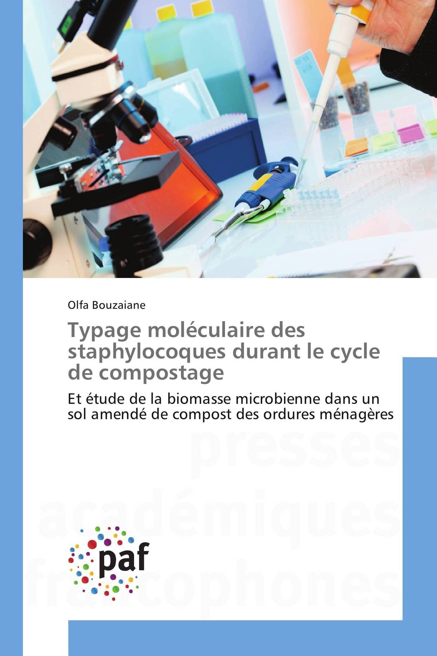 TYPAGE MOLECULAIRE DES STAPHYLOCOQUES DURANT LE CYCLE DE COMPOSTAGE