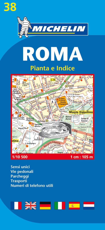 ROMA - PIANTA E INDICE