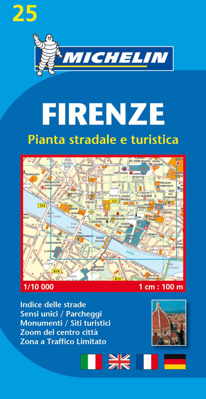 FIRENZE - PIANTO STRADALE E TURISTICA