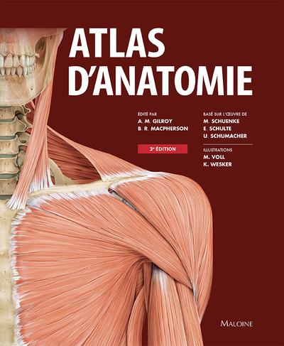 ATLAS D'ANATOMIE 3E ED.