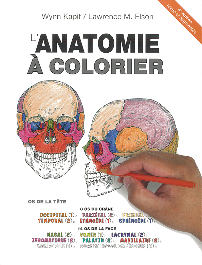 ANATOMIE A COLORIER, 4E ED.