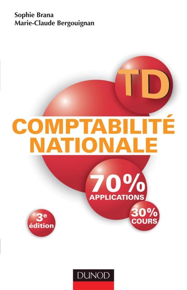 TD - COMPTABILITE NATIONALE - 3E EDITION