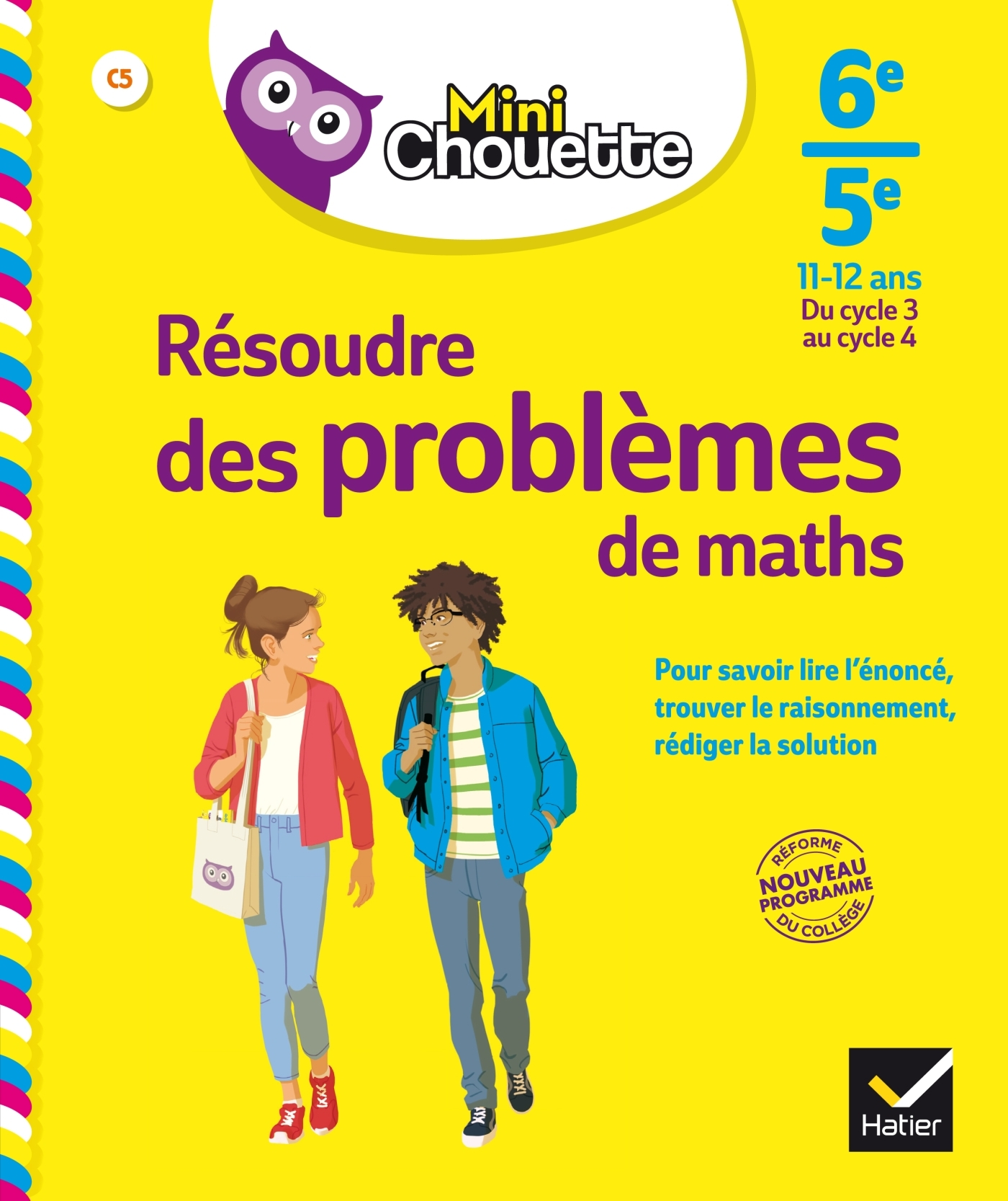 MINI CHOUETTE RESOUDRE DES PROBLEMES DE MATHS 6E/ 5E