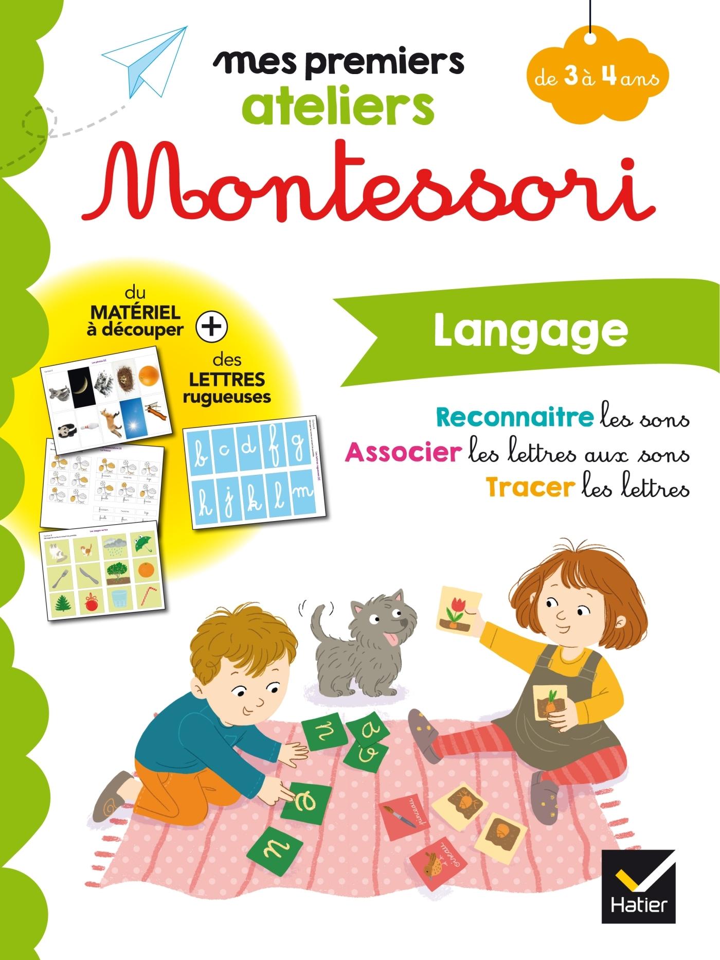 MONTESSORI LANGAGE 3-4 ANS