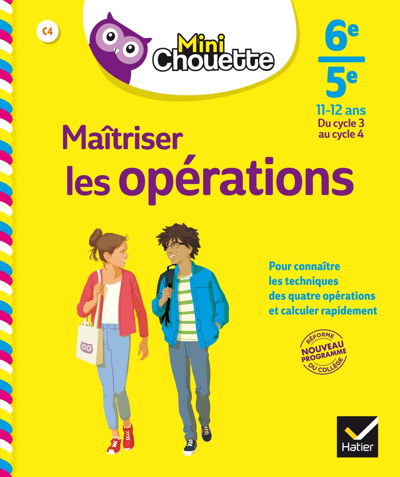 MINI CHOUETTE MAITRISER LES OPERATIONS 6E/5E