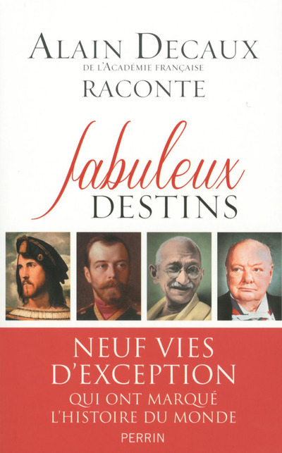 FABULEUX DESTINS