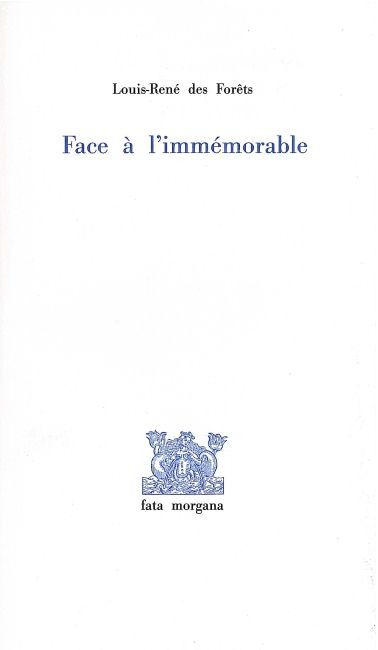 FACE A L'IMMEMORABLE-