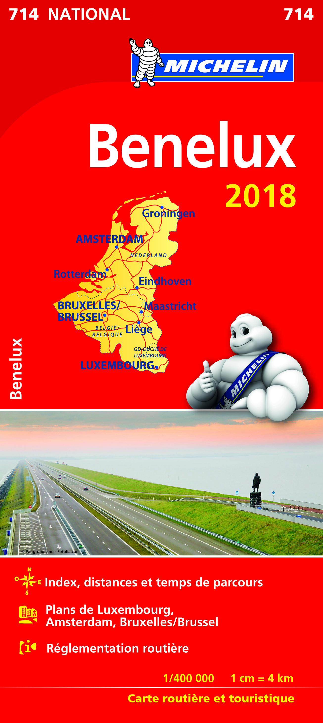 CARTE NATIONALE 714 BENELUX 2018