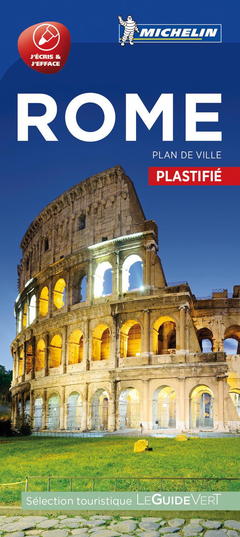 ROME - PLAN DE VILLE PLASTIFIE