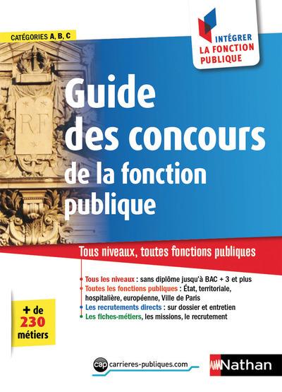 LE GUIDE DES CONCOURS 2018 N19 - CATEGORIES A-B-C - COMMENT INTEGRER LA FONCTION PUBLIQUE 2017