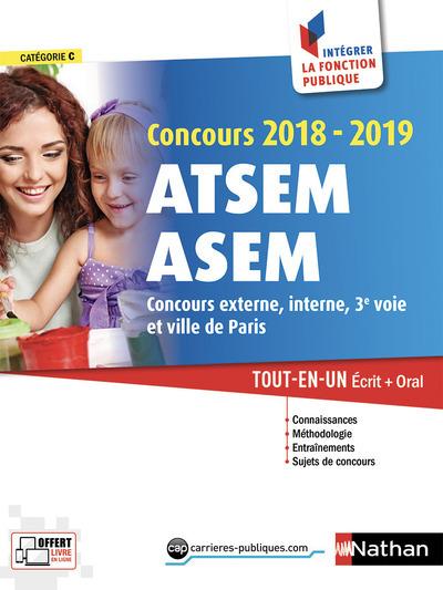 CONCOURS ATSEM ASEM 2018-2019 - NUMERO 16 CATEGORIE C (INTEGRER LA FONCTION PUBLIQUE) - 2018
