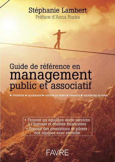 GUIDE DE REFERENCE EN MANAGEMENT PUBLIC ET ASSOCIATIF