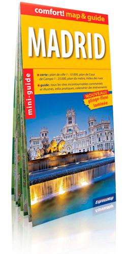 MADRID (COMFORT !MAP&GUIDE, CARTE LAMINEE)
