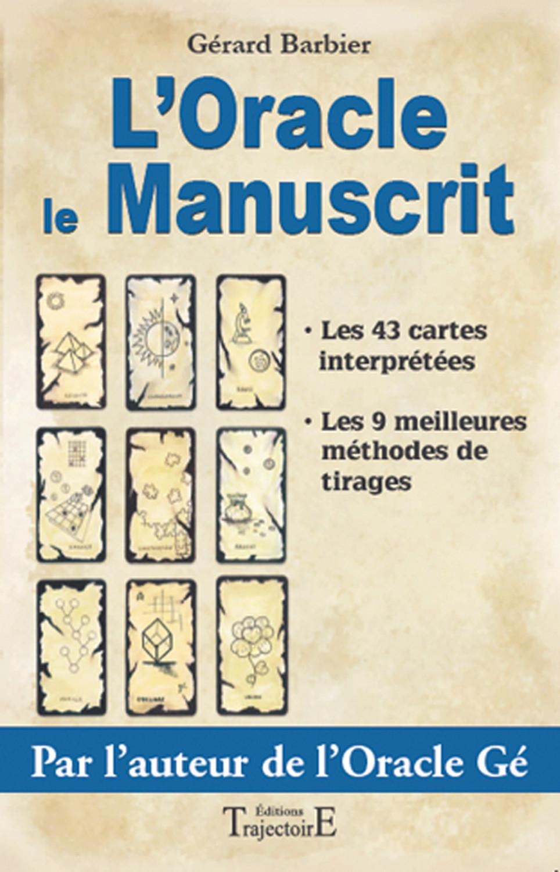 ORACLE LE MANUSCRIT - LE LIVRE