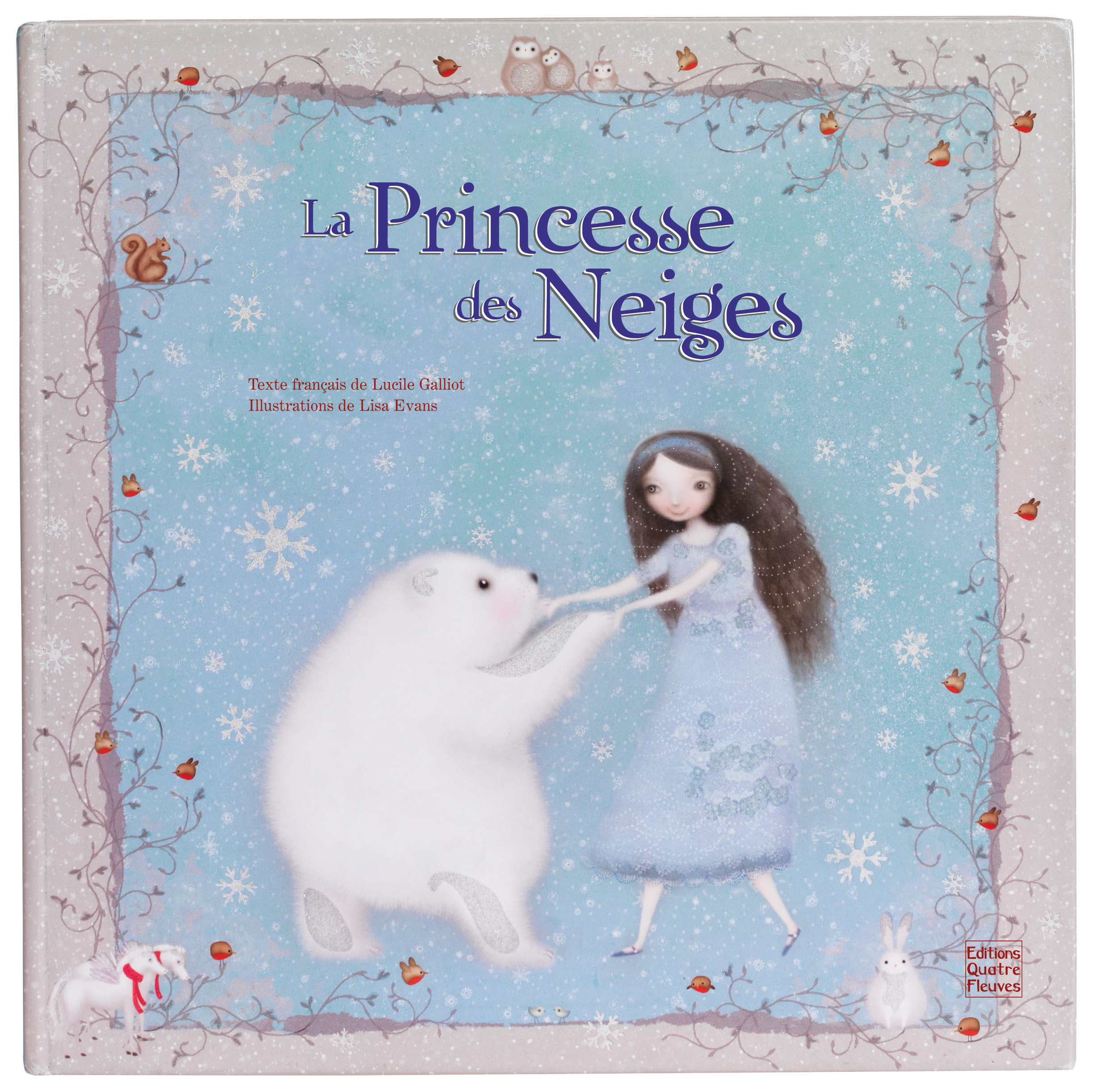 LA PRINCESSE DES NEIGES - CARTONNE