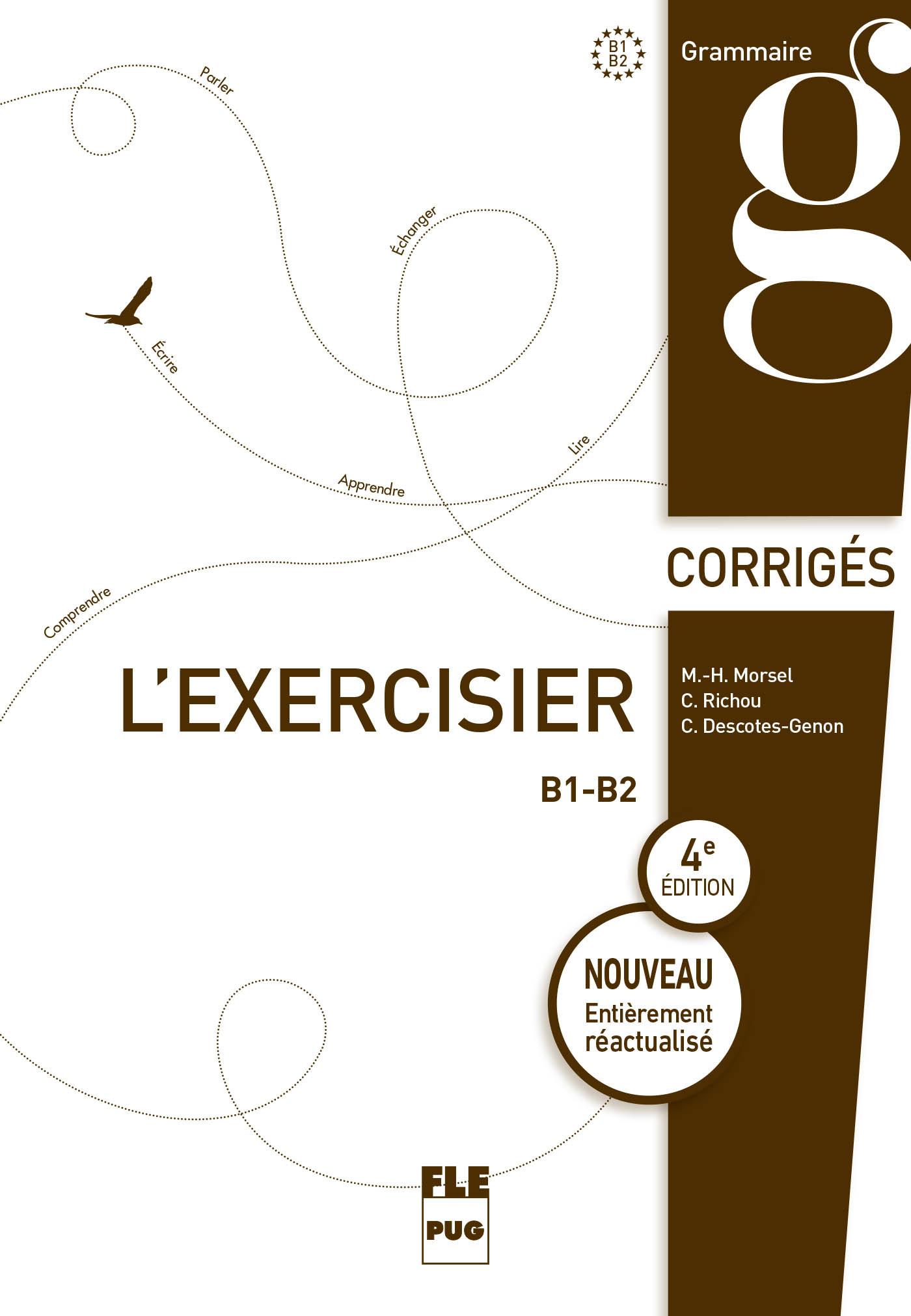 EXERCISIER (L') - CORRIGES DES EXERCICES