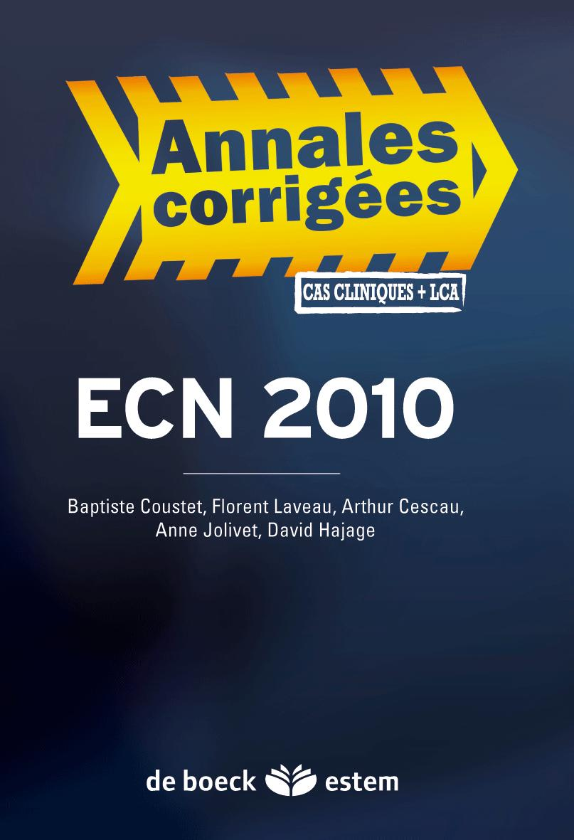 ECN ANNALES CORRIGEES 2010