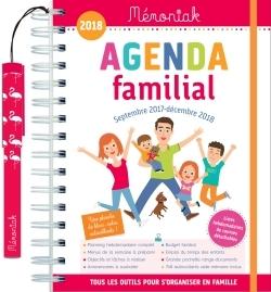 AGENDA FAMILIAL MEMONIAK 2017-2018