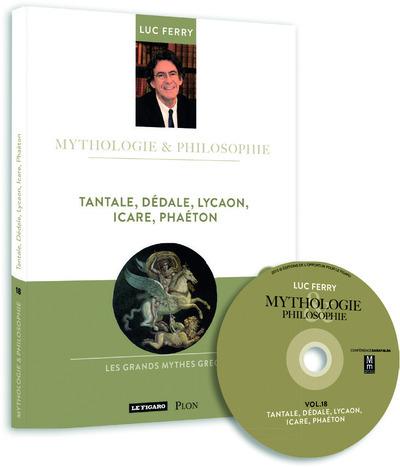 TANTALE, DEDALE, LYCAON, ICARE, PHAETON VOLUME 18 LIVRE + CD