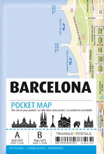 BARCELONE POCKET MAP