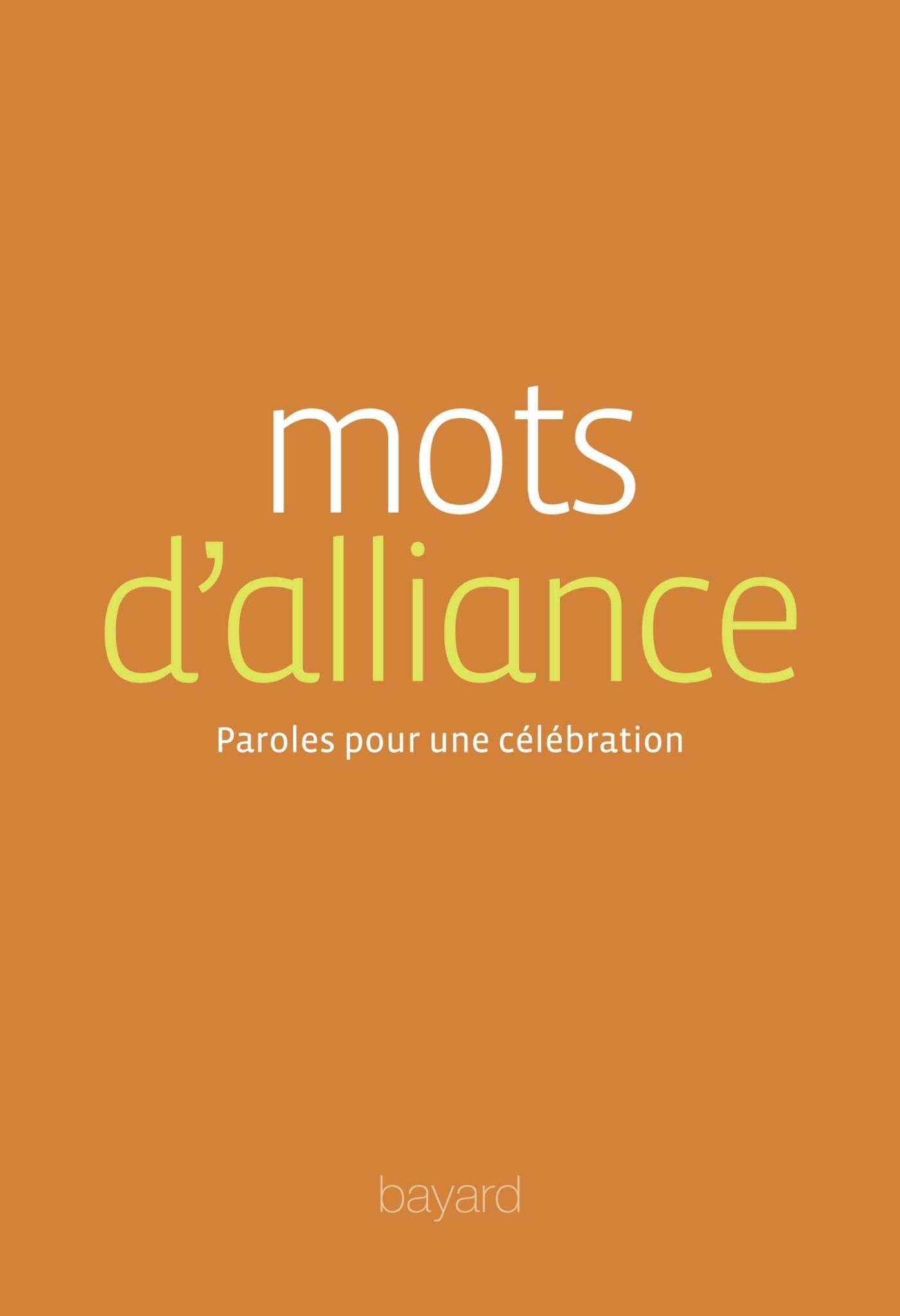 MOTS D'ALLIANCE