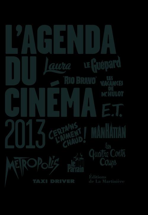 L'AGENDA DU CINEMA 2013