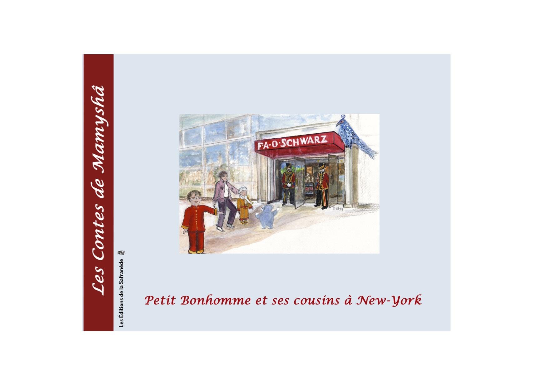 PETIT BONHOMME ET SES COUSINS A NEW-YORK
