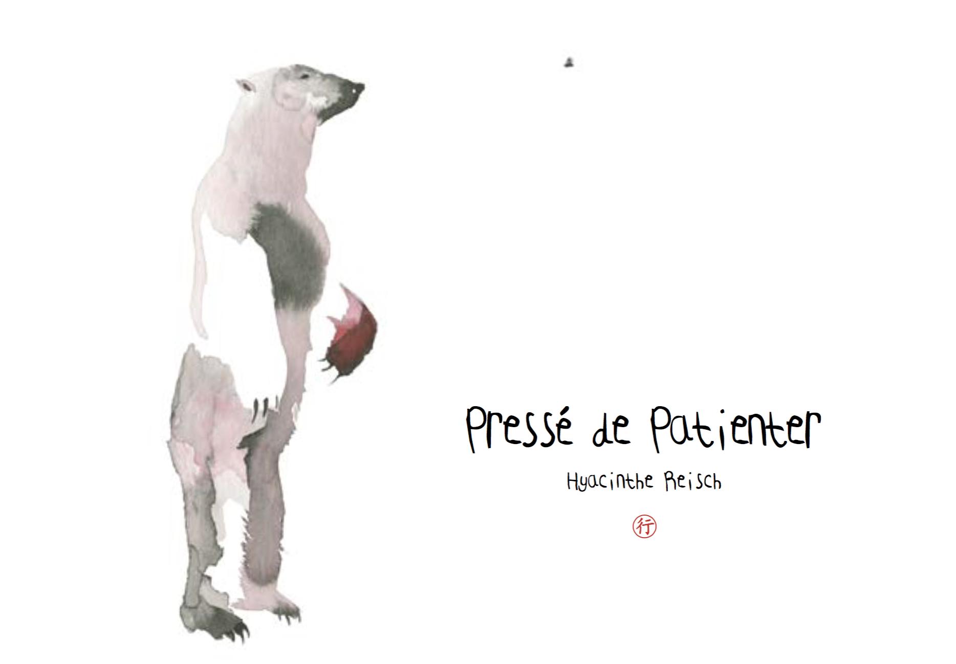PRESSE DE PATIENTER