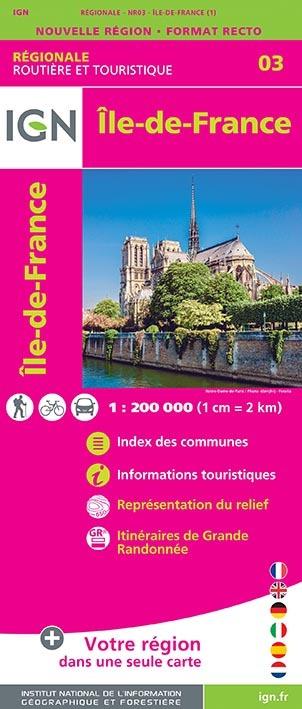 NR03  LE-DE-FRANCE  1/ 200 000