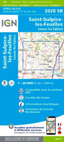 2028SB ST-SULPICE-LES-FEUILLES.LUSSAC-LES-EGLISES