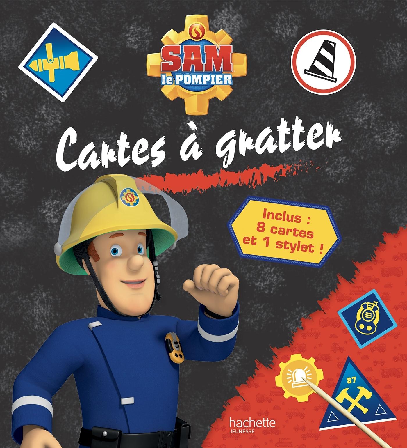 SAM LE POMPIER - CARTES A GRATTER
