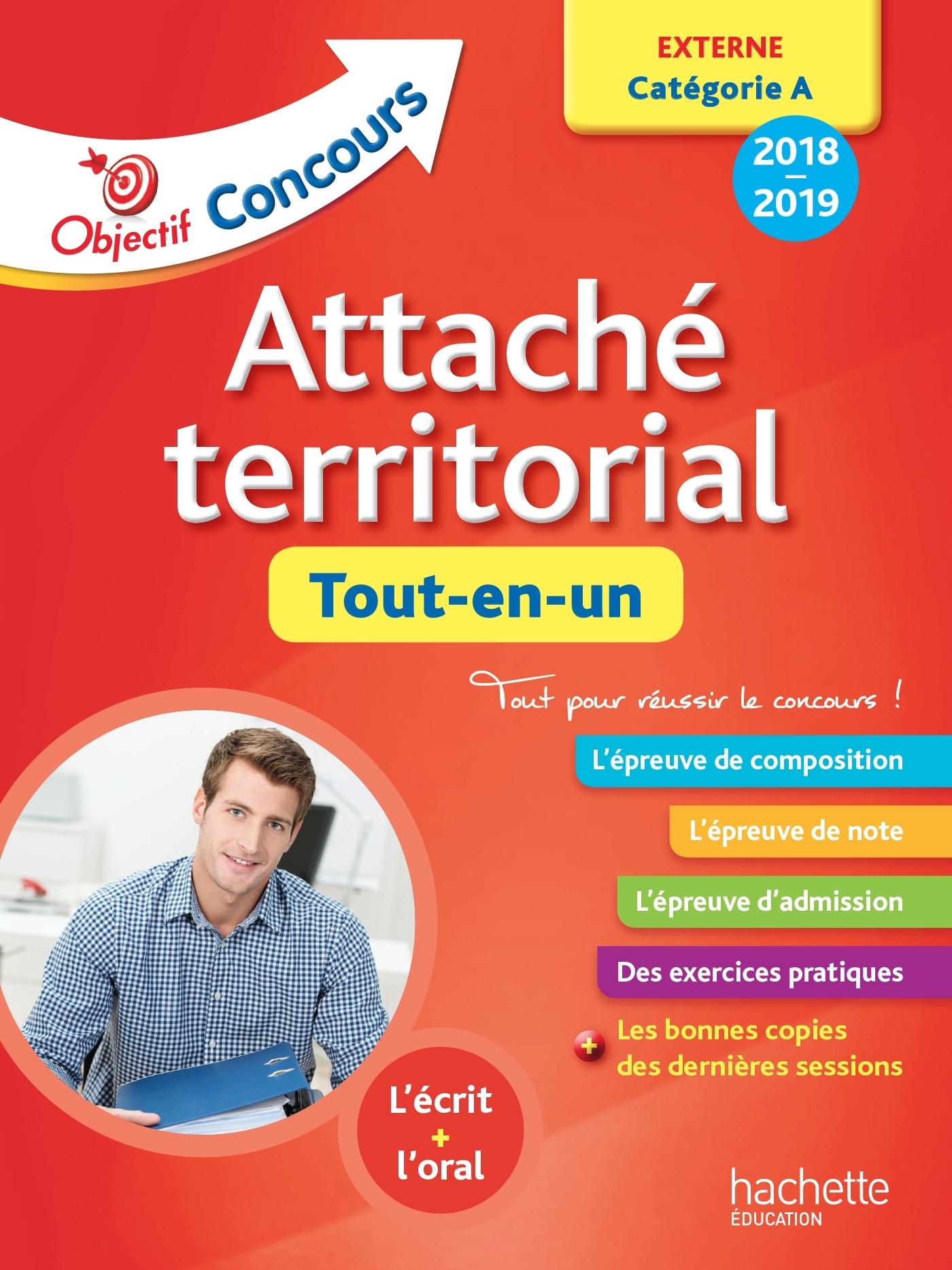 OBJECTIF CONCOURS 2018 ATTACHE TERRITORIAL (CONCOURS EXTERNE)