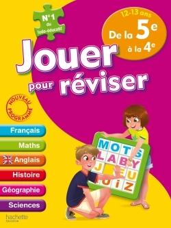 JOUER POUR REVISER - DE LA 5E A LA 4E 12-13 ANS