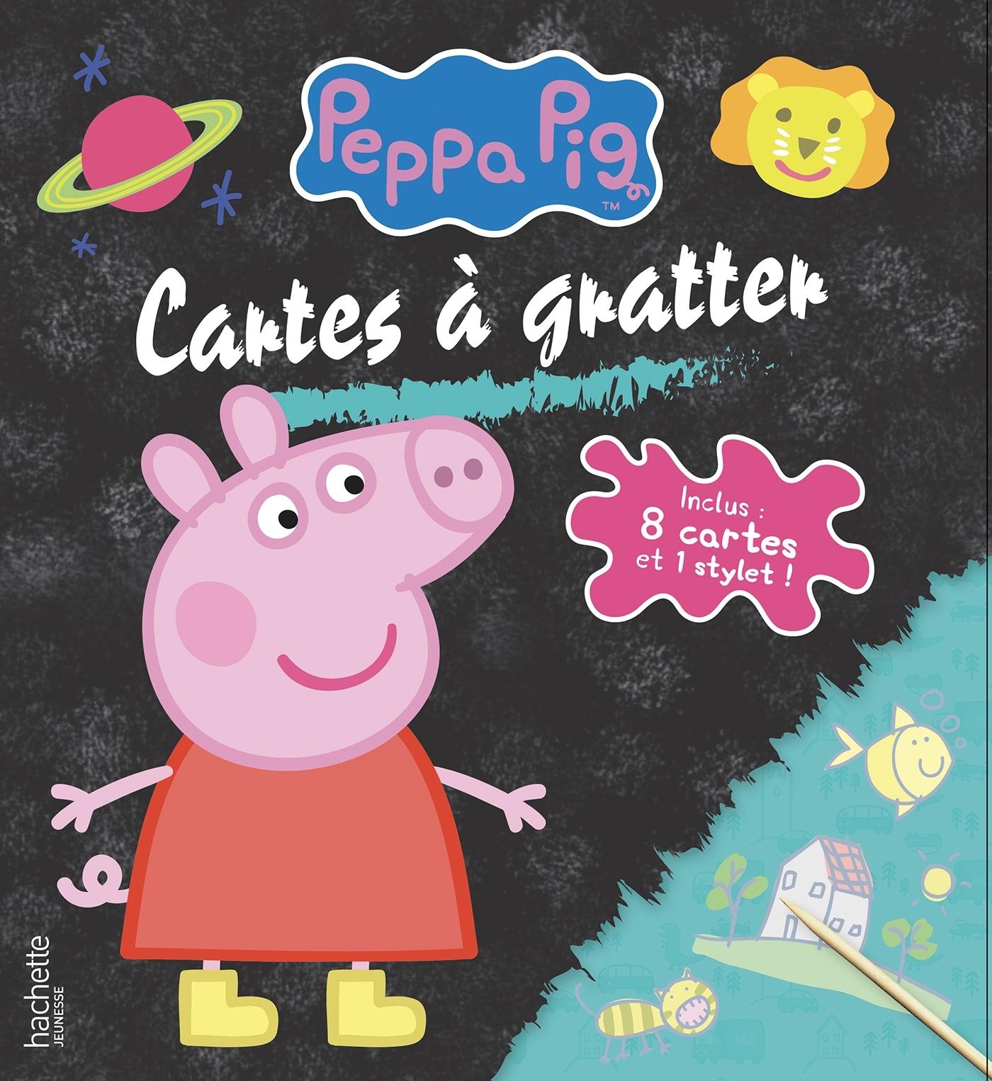 PEPPA PIG - CARTES A GRATTER